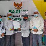 Yayasan Tabung Wakaf Umat Audiensi Dengan BAZNAS Provinsi Riau Membahas Sinergi Program Pendidikan