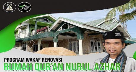 Wakaf Renovasi Rumah Qur'an Nurul Azhar