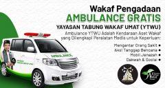 Wakaf Pengadaan Ambulance YTWU